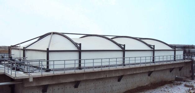 巴黎圣母院重建!来说说污水池反吊膜防火性能