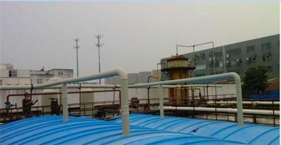 化工污水处理之污水池加盖