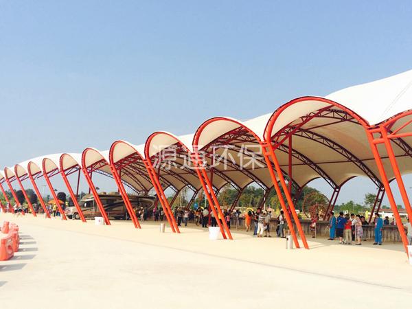 主题游乐园膜结构